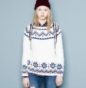 stylowy sweter