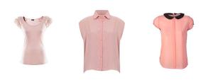 różowe bluzki
