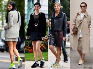 stylizacje z butami sportowymi