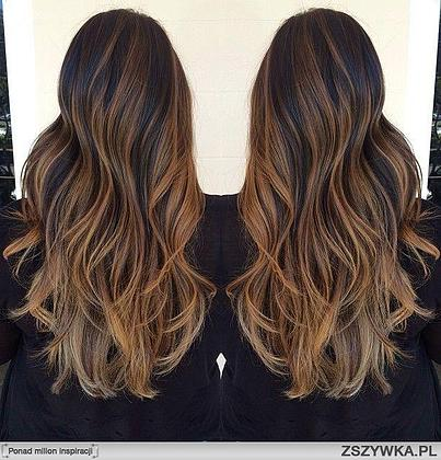 Modne fryzury 2017 lob brond a mo e sombre stylove for A salon to dye for