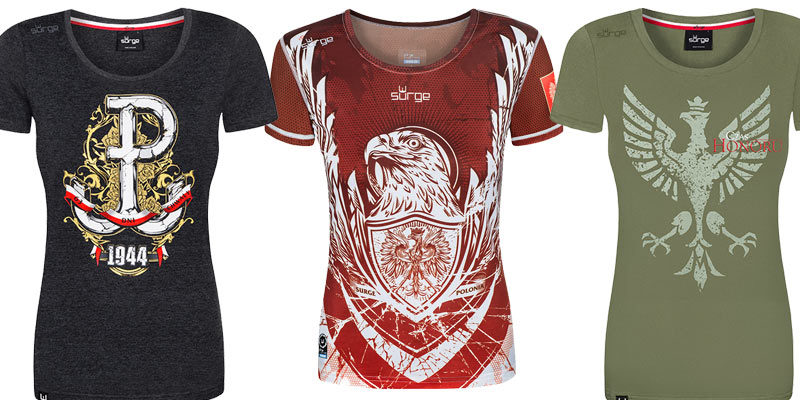 Koszulki patriotyczne – odzież również dla kobiet?