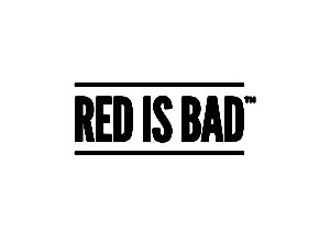red is bad logo