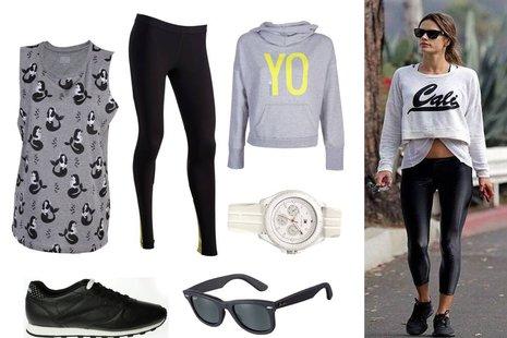 Sportowe stylizacje - co dobrać do legginsów, trampek i dresów?