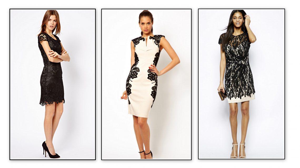 Sukienki z koronki - 3 stylowe propozycje