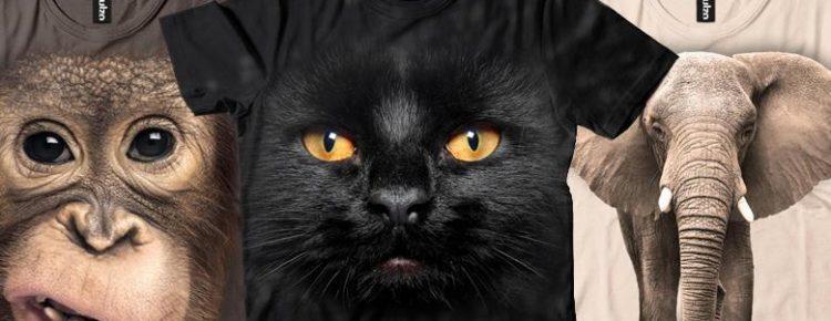 Psy i koty w 3D, czyli koszulki i bluzy w sklepie Tulzo