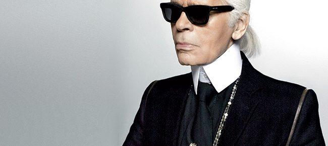 Król mody Karl Lagerfeld