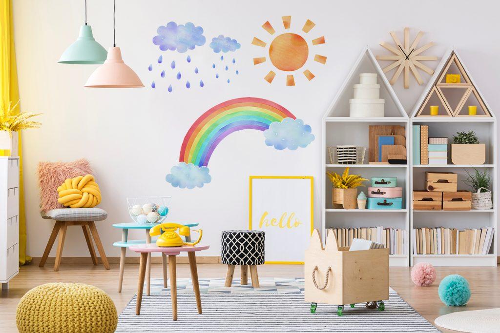 naklejki na ścianę do pokoju dziecka