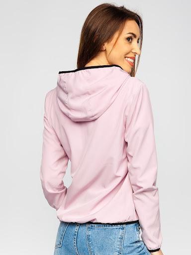 różowa kurtka damska